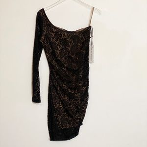 NWT REVOLVE Lovers + Friends black lace dress